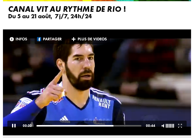 Canal+ rio olympic streaming