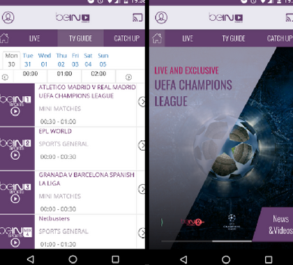 beIN Sport Android App