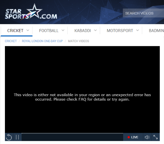 star sports blocked