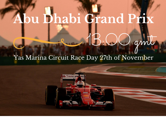 Abu Dhabi Grand Prix date and time