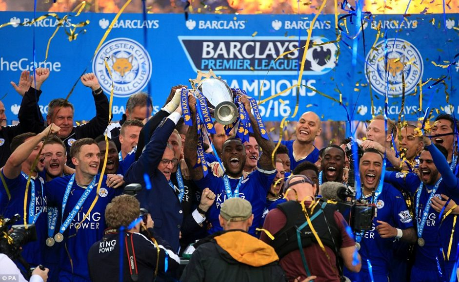 Leicester City champion