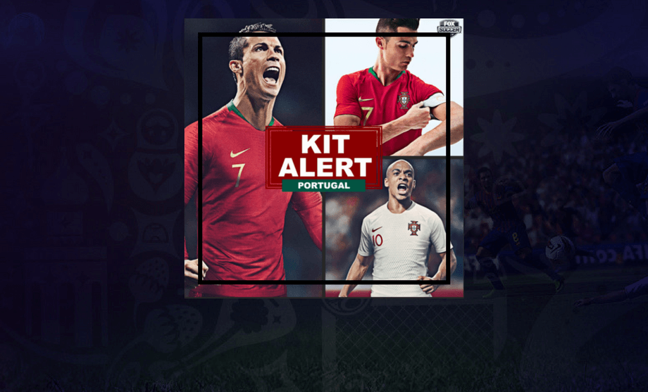 Portugal Fifa World Cup 2018 Kit Revealed