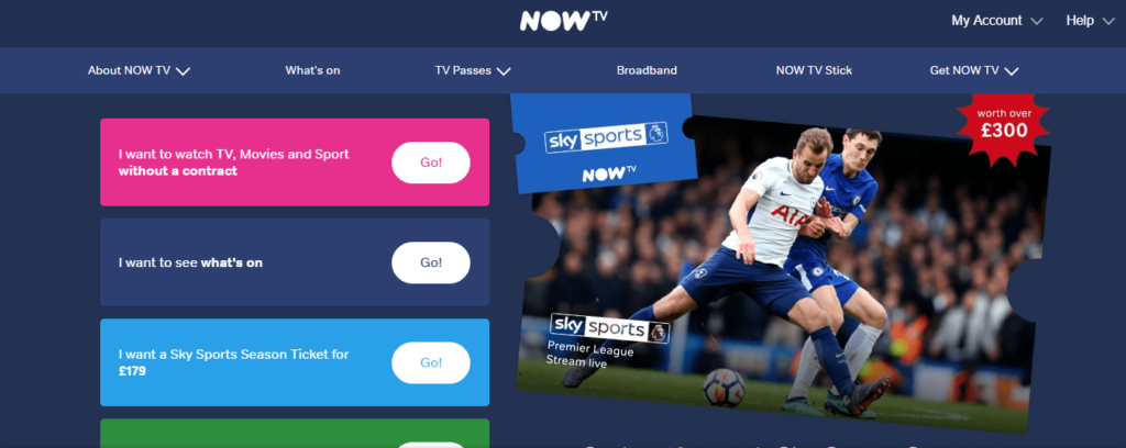 How To Watch Now TV Outside UK